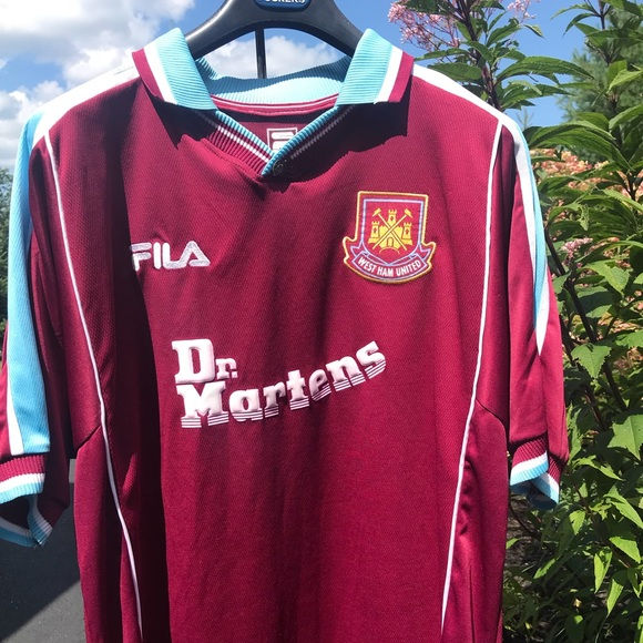 quality design d7544 9c1dd West Ham United official jersey